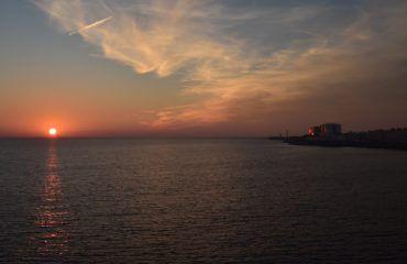 Puesta de sol Campo del Sur