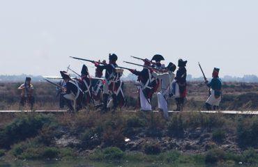 Recreación del sitio de San Fernando