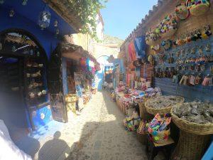La Medina de Chauen se llena de color