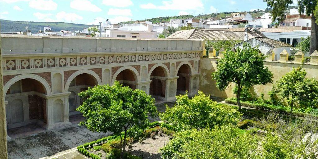 Logia renacentista del jardín del palacio de los RIbera